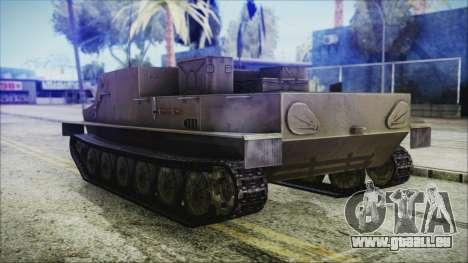 BTR-50 pour GTA San Andreas laissé vue