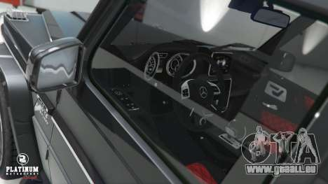 GTA 5 Mercedes-Benz G63 AMG v1 volant