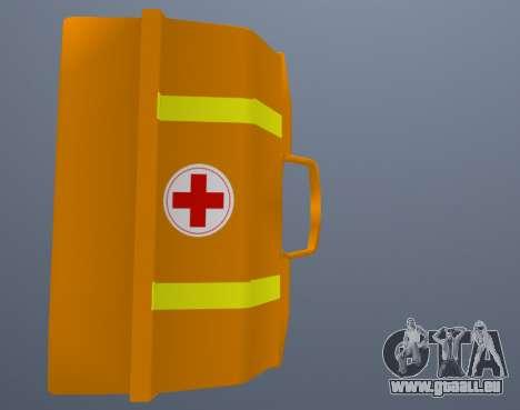 Trousse De Premiers Soins pour GTA San Andreas troisième écran
