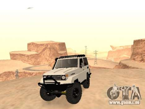 Toyota Machito Off-Road (IVF) 2009 pour GTA San Andreas vue arrière