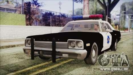 Dodge Monaco 1974 SFPD IVF pour GTA San Andreas