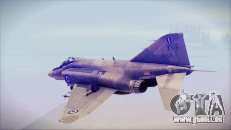 McDonnell Douglas F-4N Hellenic Air Force pour GTA San Andreas laissé vue