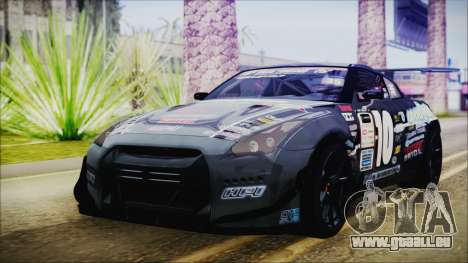 Nissan GT-R R35 Naoto für GTA San Andreas