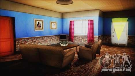 CJ House New Interior pour GTA San Andreas cinquième écran