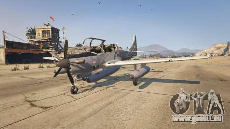 GTA 5 Embraer A-29B Super Tucano House