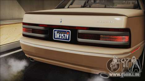 GTA 5 Albany Primo Custom IVF pour GTA San Andreas vue intérieure