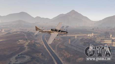 GTA 5 Embraer A-29B Super Tucano House sechster Screenshot