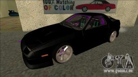 Mazda RX-7 FC Drift pour GTA San Andreas