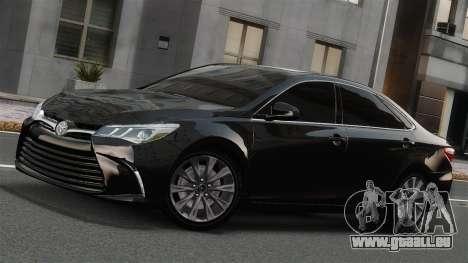 Toyota Camry 2015 USA für GTA 4