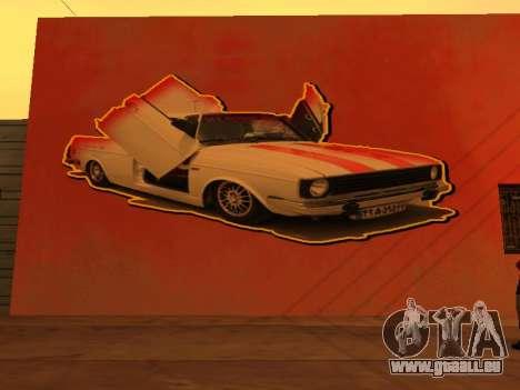 Peykan Wall Graffiti pour GTA San Andreas