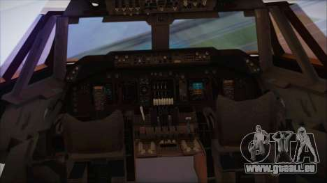 Boeing 747-237Bs Air India Harsha Vardhan pour GTA San Andreas vue arrière