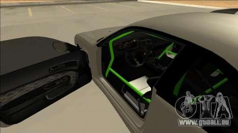 Nissan Silvia S14 Drift Monster Energy für GTA San Andreas Innenansicht