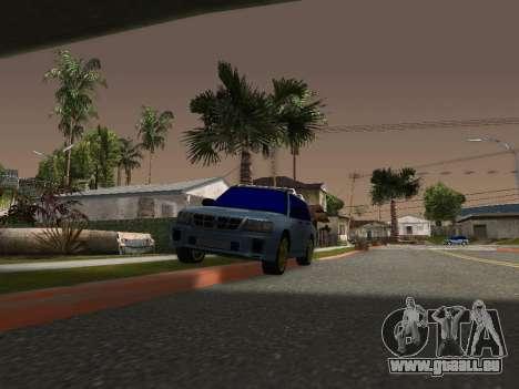 Subaru Forester 1998 pour GTA San Andreas laissé vue