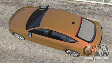 GTA 5 Audi RS7 2016 vue arrière