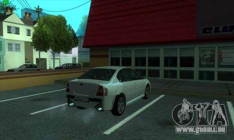 Subaru Legacy pour GTA San Andreas vue de droite
