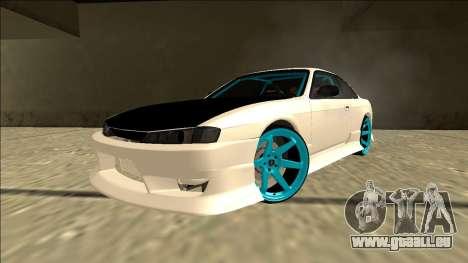 Nissan Silvia S14 Drift pour GTA San Andreas vue intérieure