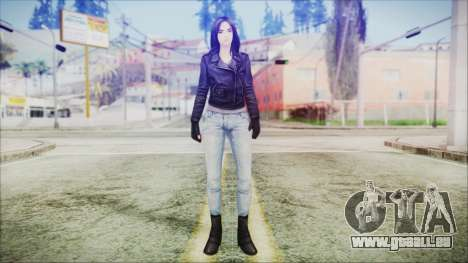 Marvel Future Fight Jessica Jones v1 für GTA San Andreas zweiten Screenshot