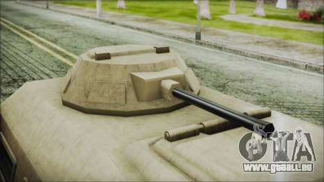 GTA 5 HVY Insurgent Van pour GTA San Andreas vue de droite