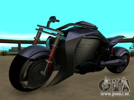Krol Taurus concept HD ADOM v2.0 pour GTA San Andreas vue arrière