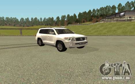 Toyota Land Cruiser 200 Bulkin Edition pour GTA San Andreas