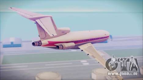 Boeing 727-200 Trans World Airlines für GTA San Andreas linke Ansicht