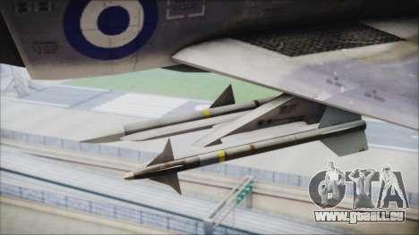 McDonnell Douglas F-4N Hellenic Air Force pour GTA San Andreas vue de droite
