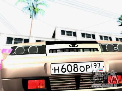 VAZ 2111 Tuning pour GTA San Andreas vue arrière