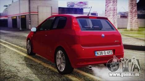 Zastava 10 pour GTA San Andreas laissé vue