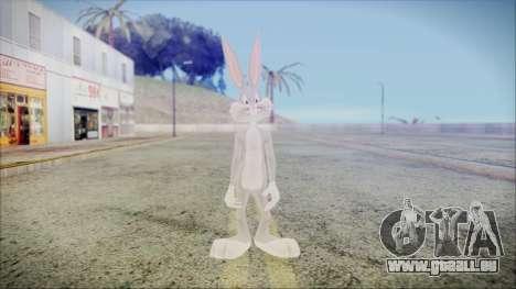 Bugs Bunny pour GTA San Andreas deuxième écran