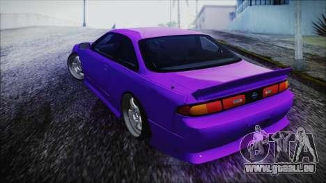 Nissan Silvia S14 Zenki BN Sports pour GTA San Andreas laissé vue