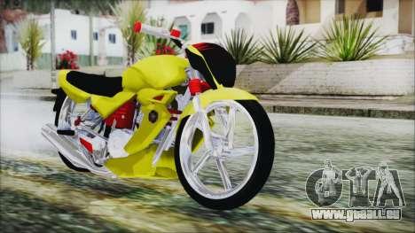 Yamaha Tuning Full Cromo pour GTA San Andreas