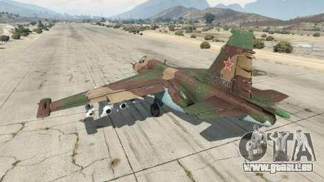 GTA 5 Su-25 v1.1 dritten Screenshot