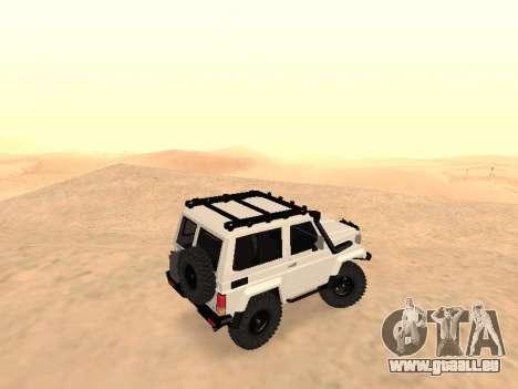 Toyota Machito Off-Road (IVF) 2009 für GTA San Andreas linke Ansicht