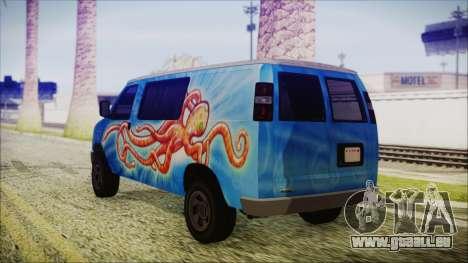 GTA 5 Bravado Paradise Octopus Artwork pour GTA San Andreas laissé vue