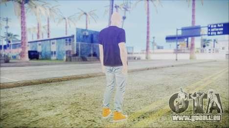 GTA Online Skin 55 pour GTA San Andreas troisième écran