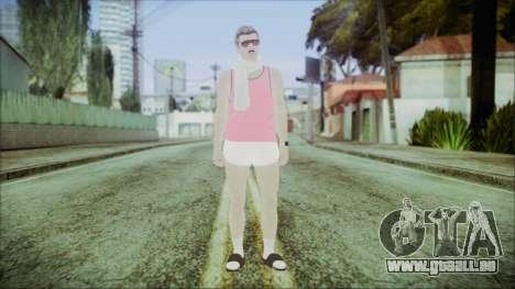 GTA Online Skin 36 pour GTA San Andreas deuxième écran