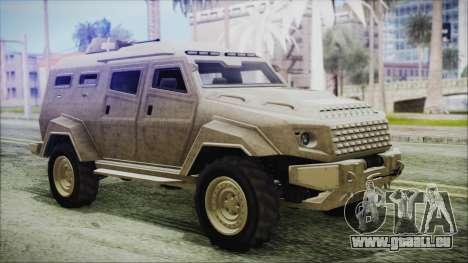 GTA 5 HVY Insurgent Van pour GTA San Andreas
