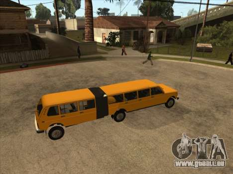 VAZ 2131 Hyper pour GTA San Andreas sur la vue arrière gauche