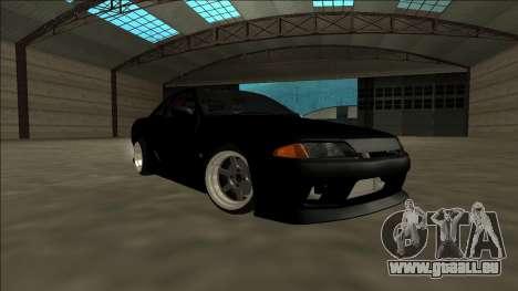 Nissan Skyline R32 Drift für GTA San Andreas linke Ansicht