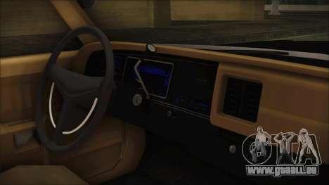 Dodge Monaco 1974 LVPD IVF pour GTA San Andreas vue de droite