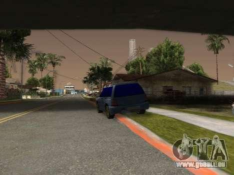 Subaru Forester 1998 pour GTA San Andreas sur la vue arrière gauche