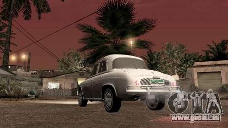 Willys-Overland Gordini III 1966 - Beta pour GTA San Andreas sur la vue arrière gauche
