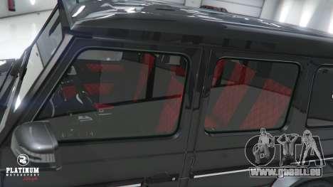 GTA 5 Mercedes-Benz G63 AMG v1 rechte Seitenansicht