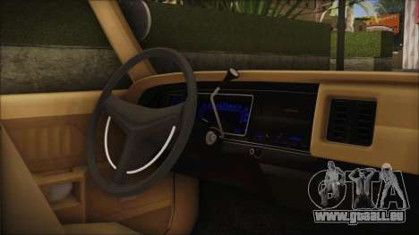 Dodge Monaco 1974 SFPD IVF für GTA San Andreas rechten Ansicht