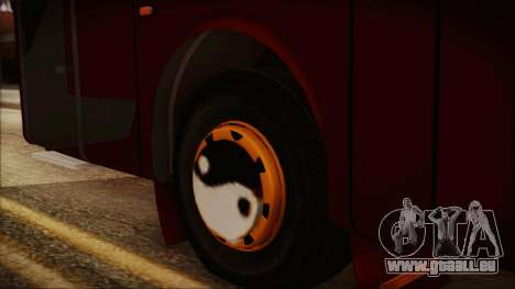 JetBus Marissa Holiday pour GTA San Andreas sur la vue arrière gauche