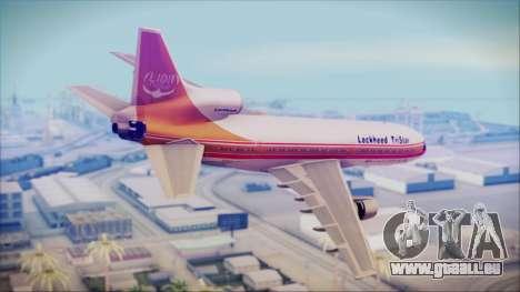 Lockheed L-1011 TriStar Prototype für GTA San Andreas linke Ansicht