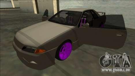 Nissan Skyline R32 Drift pour GTA San Andreas moteur