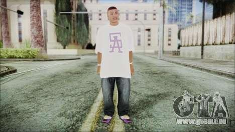 GTA 5 Ballas 1 pour GTA San Andreas deuxième écran