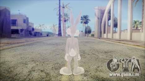 Bugs Bunny pour GTA San Andreas troisième écran