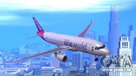 Airbus A320-200 TAM Airlines Oneworld pour GTA San Andreas